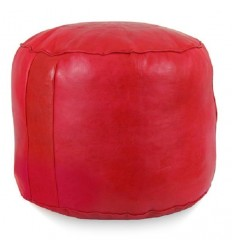 Moroccan Light blue leather pouffe Moroccan design, Pouf Leather Ottoman Poof pouffes hassock Footstool Beanbag leather pillow